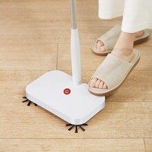Youpin Yijie Wireless Handheld Kehrmaschine Doppel pinsel Intelligente Kehrmaschine Boden Reiniger mit 30 stücke Ersetzen Nicht woven Fabr