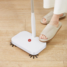 Youpin Yijie Wireless Handheld Sweeper Double brush Intelligent Sweeping Machine Floor Cleaner with 30pcs Replace Non woven Fabr