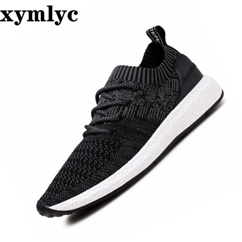 Men 39 s sneakers mesh breathable sweat shoes summer Korean solid color round head laceup light Non slip wear resistant flat shoes in Men 39 s Casual Shoes from Shoes