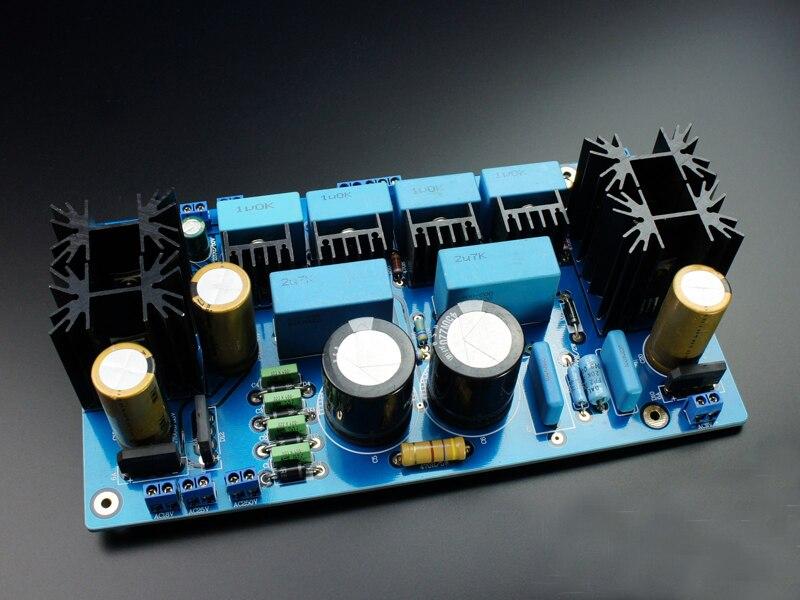 IWISTAO régulateurs alimentation Kit carte PCBA pour Tube MM/MC préamplificateur Phono (WMMTV-TGA31-MB) Audio HIFI bricolage