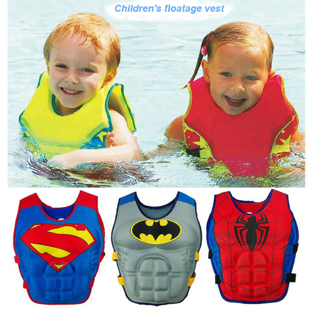 2-6Y Baby Non Inflatable Swim Vest Safety Baby Float Kids Swim Trainer Boy Girl Assisted Swimwear Learning Swimming Equipment