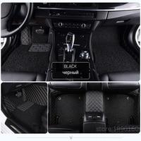 Custom car floor mats for Kia Sorento Sportage Optima K5 Forte K3 perfect fit carpet foot case car styling rugs liners