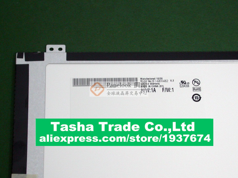 цена  B140XW02 V.2  LCD Screen Display 1366*768 Original Good Quality B140XW02 V2  онлайн в 2017 году