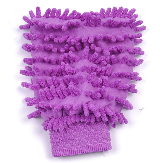 Microfiber Double Sided Washing Gloves