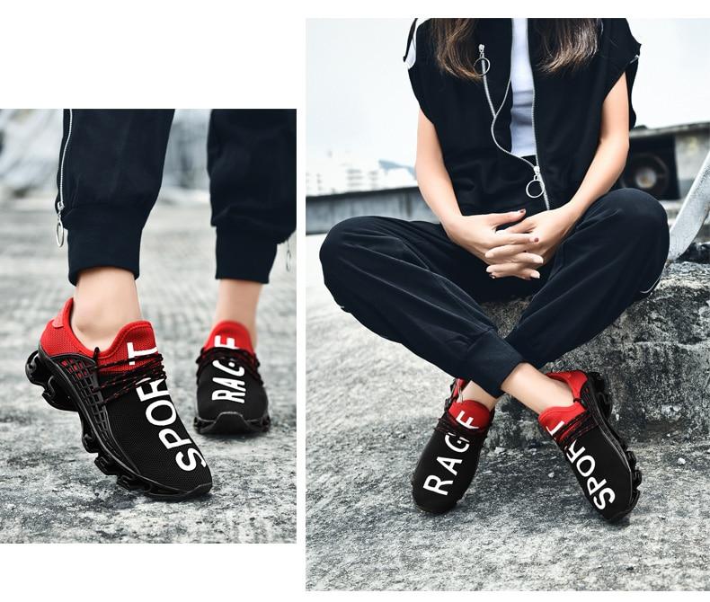 18 New Breathable QIYHONG Men Sneakers Unisex Couple Shoes Basket Femme Hard-Wearing Tenis Feminino Male Footwear Plus Size 19