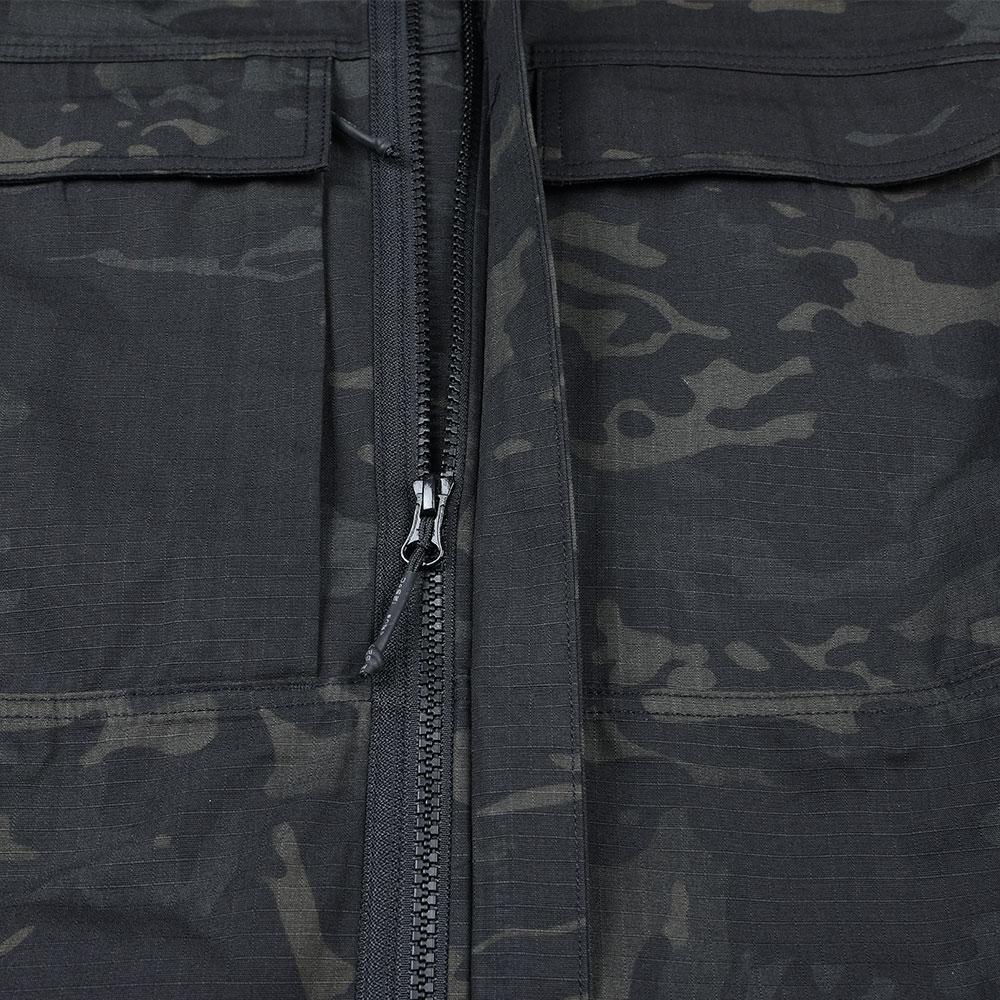 Men's Tactical Softshell Casual Zipper Jacket Outdoor Coat Jacket Water Repellent Sports Clothes