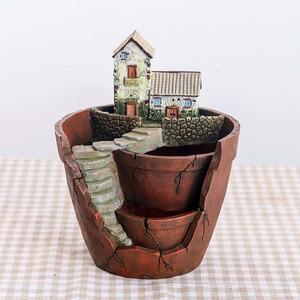 Image 2 - Roogo Pots de fleurs pour maison fée