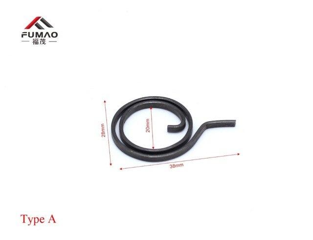 10 шт. производство плоский провод дверной замок ручка пружинная катушка для двери