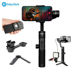 Feiyu SPG2 3-Axis Handheld Gimbal Stabilizer Splash-proof Follow Focus for iPhone XS X 7 Gopro 7 6 5 Vlog, Feiyutech SPG 2