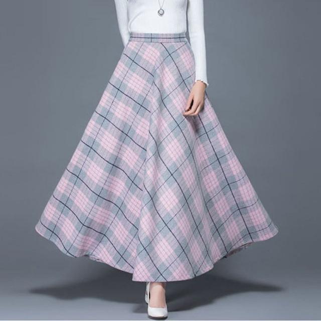df4b64366 2018-Winter-Plus-Size-6XL-5XL-XXXXXL-Fashion-Pink-Lattice-Plaid-Thicken-Woolen-Female-Maxi-Long.jpg_640x640.jpg