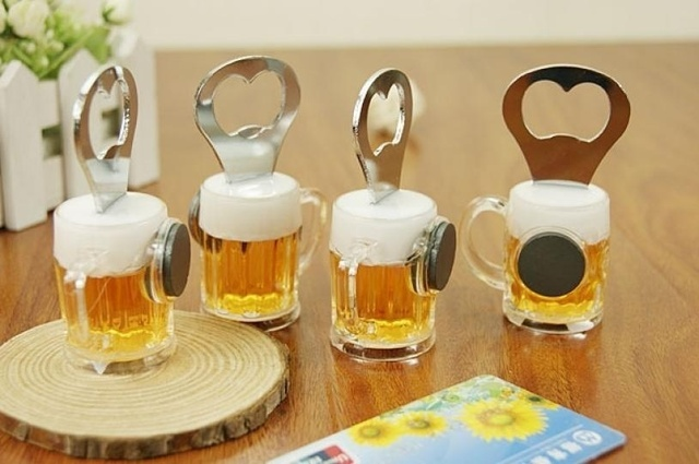 Beer Bottle Opener Creative Practical Stainless Steel Wine Opener Kitchen Accessories Fridge Magnets Lovesh