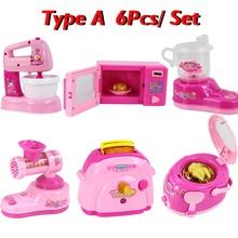 Kids Pretend Play Mini Kitchen Home Appliances