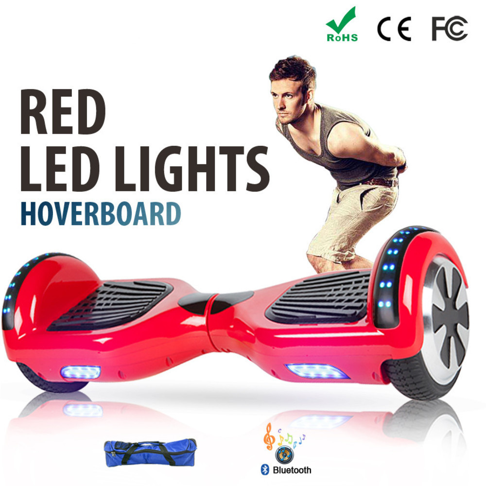 Patineta Electrica Zelf Balans Scooter Hoverboard 6.5 Pulgadas Monociclo Electric Patin Patinete Volante Skateboard