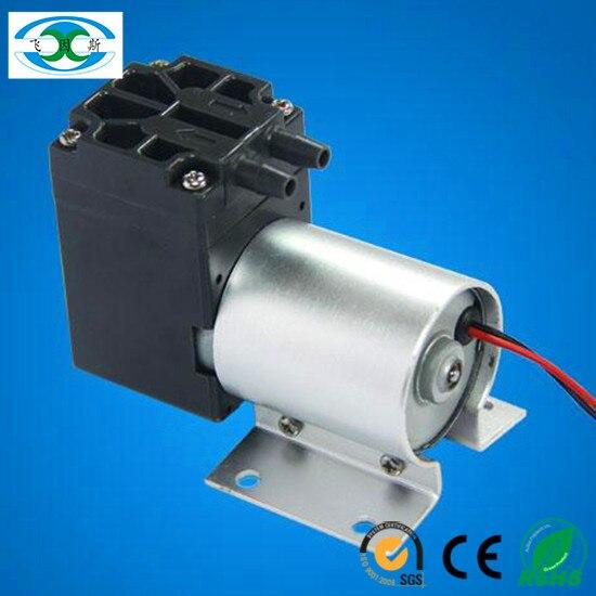 ФОТО 2400mbar pressure 18 L/M dc electric  diaphragm brushless small vacuum pump