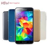 Orijinal Sıcak Satış S5 I9600 Orijinal Unlocked Galaxy S5 I9600 G900A G900F G900H 16MP Dört çekirdekli GPS WIFI Yenilenmiş cep Telefonu