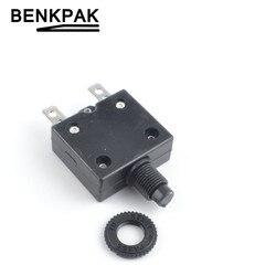 Термовыключатель, мини-кнопка защиты от перегрузки, 30 А