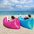 El Saco de dormir 240*70 cm Bolsas de Aire Perezoso Sofá Inflable Del Aire sofá Cama Lazy Bones Sala De Playa Plegable Camping Rápido Para Dormir cama