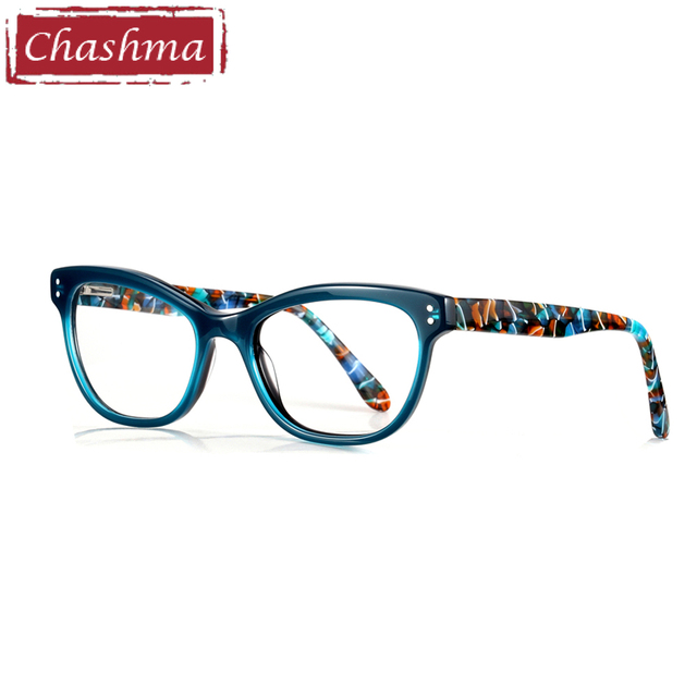 9be5b9176b Chashma Brand Acetate Material Female Eyewear Fashion Trend Stylish Student  Prescription Glasses Frame Women Optical Eye