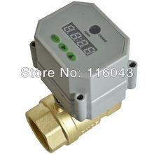 AC110V-230V BSP/NPT 1/2 »Время Контролируемая шаровой Клапан для компрессора сад воздуха воздушным насосом Слейте воду воды управления