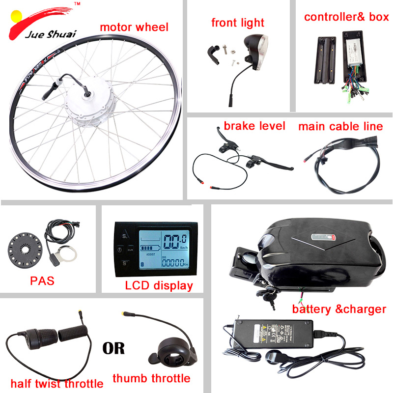 500 W 24V kit speed control box /& Hand Throttle f scooter ebike electric motor