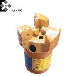 Broca de perforación de núcleo de alta calidad, brocas cóncavas de 3 Alas, 75mm-113mm, broca PDC para taladro, brocas de Prospección Geológica para tubería 50/42