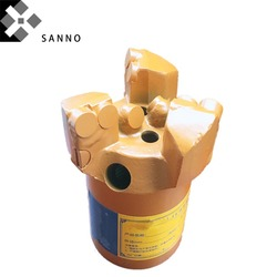 Hohe qualität kern bohren bit 3 flügel konkaven bohrer 75mm-113mm PDC bohren bit geologische erkundung bits für 50/42 rohr