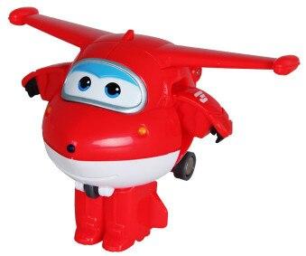 12 стилей, мини Супер Крылья, деформация, мини реактивный ABS робот, игрушка, фигурки, Супер крыло, трансформация, игрушки для детей, подарок - Цвет: No box Jet