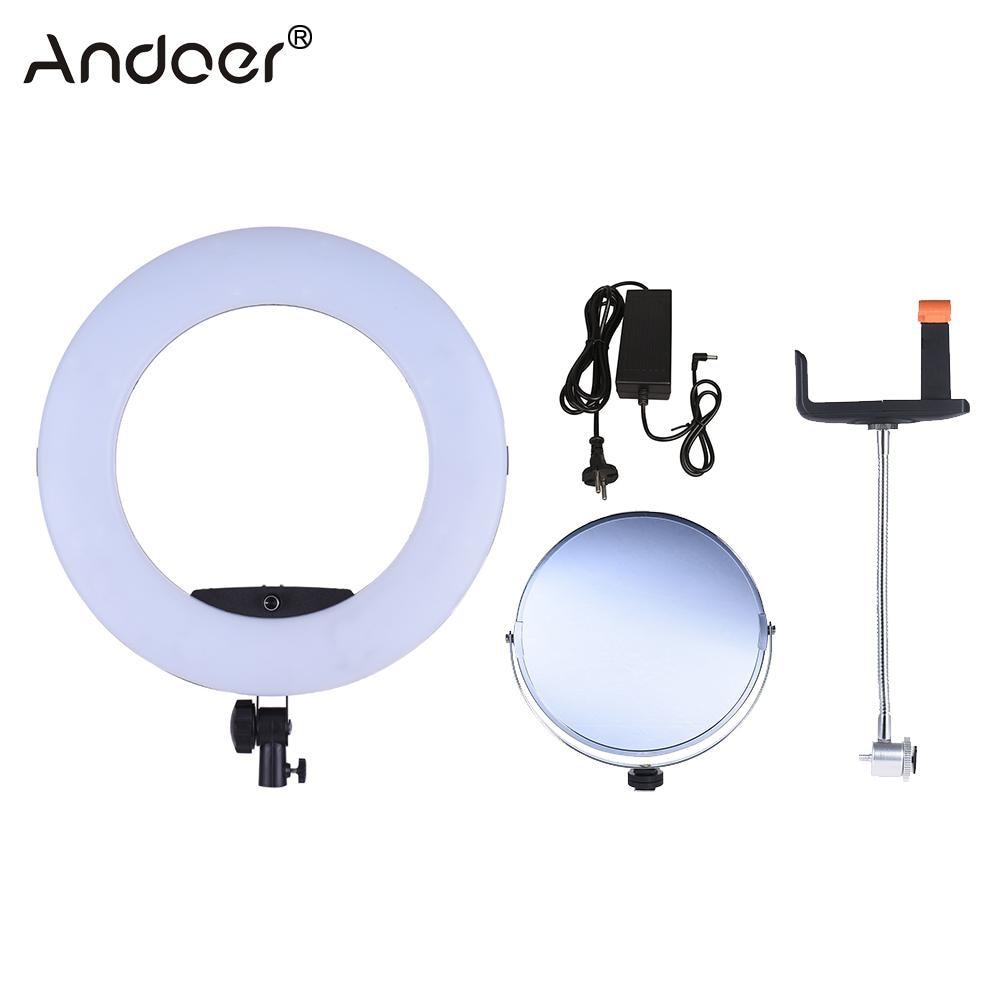 Andoer Fd 480ii Led Video Ring Light Lamp 96w 3200 5500k