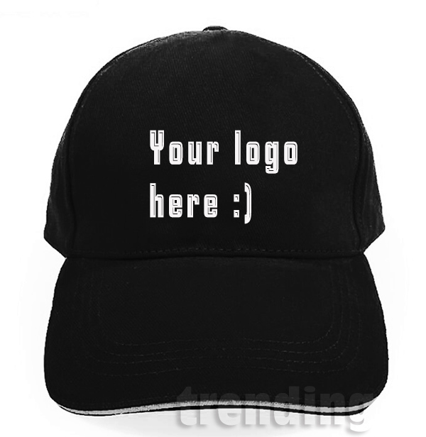 69fcd428f7958 Men Women Custom cotton diy Trucker Hat Flat Visor Free Logo Summer  Snapback Cap Sport Team Group Name Print Free Shipping
