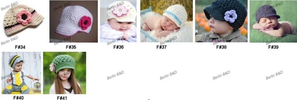 Venta al por mayor Del Bebé Del Sombrero 700 Diseños Que Usted elija ...
