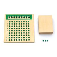 1Set Montessori Mathematics Multiplication Division Board Math Plate Teaching Early Learning Educational Toys For Kids