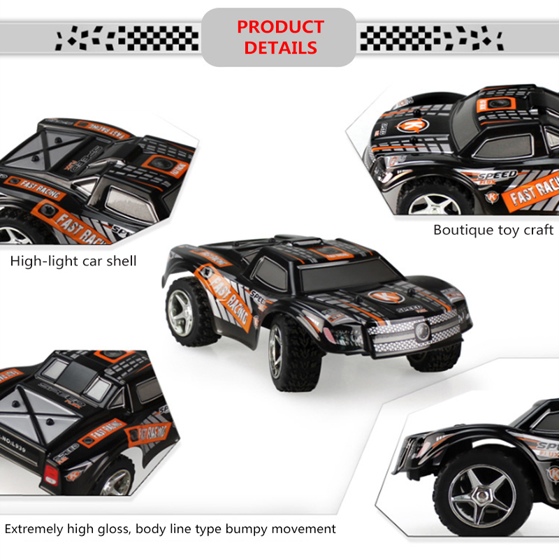 wltoys RC Car 2 4G 4CH Rock Crawlers Driving Car Drive Bigfoot Car Remote Control Car Model OffRoad Vehicle Toy rc car drift in RC Cars from Toys Hobbies