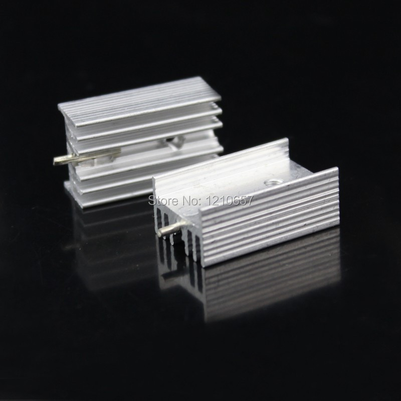 все цены на 20 pcs lot 25x15x10mm Anodized Black Aluminum Heatsink for TO-220 TO220 IC Heat Sink онлайн