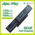 Apexway 11.1V 6 セルノート Pc バッテリー ASUS A32-Z94 A32-Z96 A9 シリーズ A9T A9C A9R A9Rp A9Rt A9T A9W