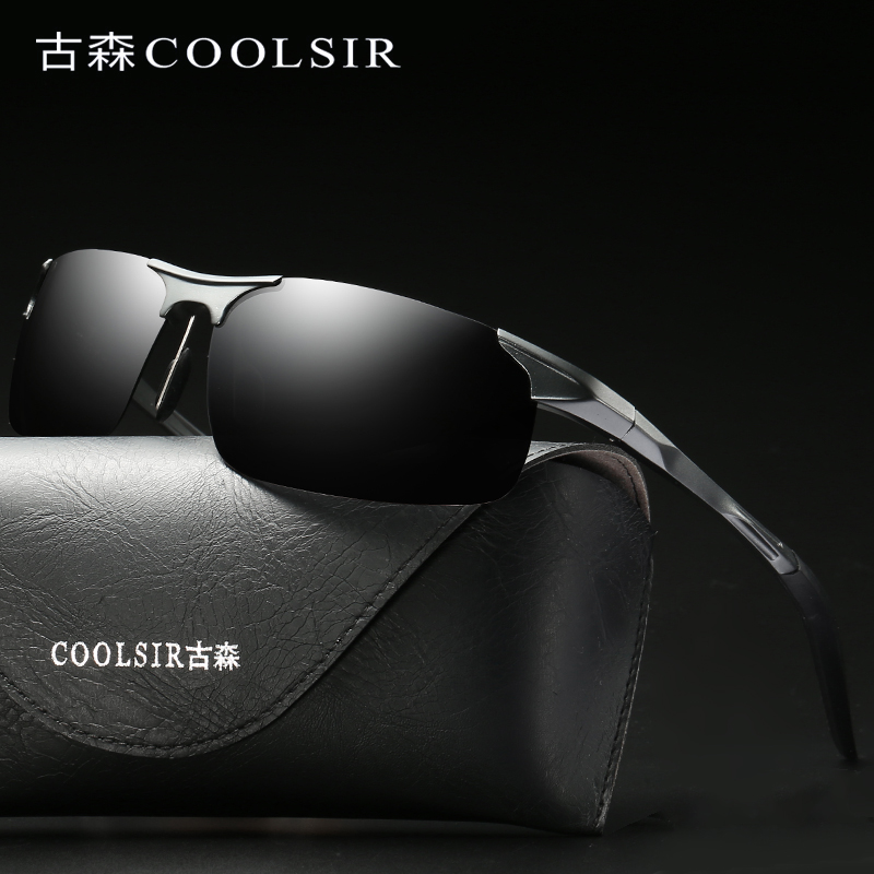 2018 Brand Sunglasses Men Polarized Sunglasses Women Vintage Luxury UV400 Black Yellow S ...
