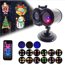 Christmas Lights Projector Outdoo Snowfall IP65 Waterproof with Remote for Halloween Xmas Wedding Home Party