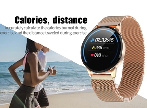 Image 3 - Women Sport Smart Watch Men LED Waterproof SmartWatch Heart Rate Blood Pressure Pedometer Watch Clock For Android iOS