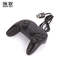 HAOBA Classic Dual Analog Wired Wii Controller Gaming Pro For Wii Remote Controller Gamepad For Wii