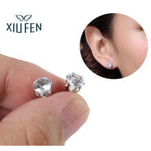 XIUFEN Bio Magnetic earrings magnetic Healthcare Earring Weight Loss Earrings Slimming Ear  Stimulating Acupoints Stud Earring