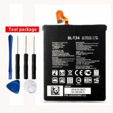 Fesoul High Capacity BL-T34 Phone Li-ion Replacemen Battery for LG SPRINT V30+ LS998 3300mAh