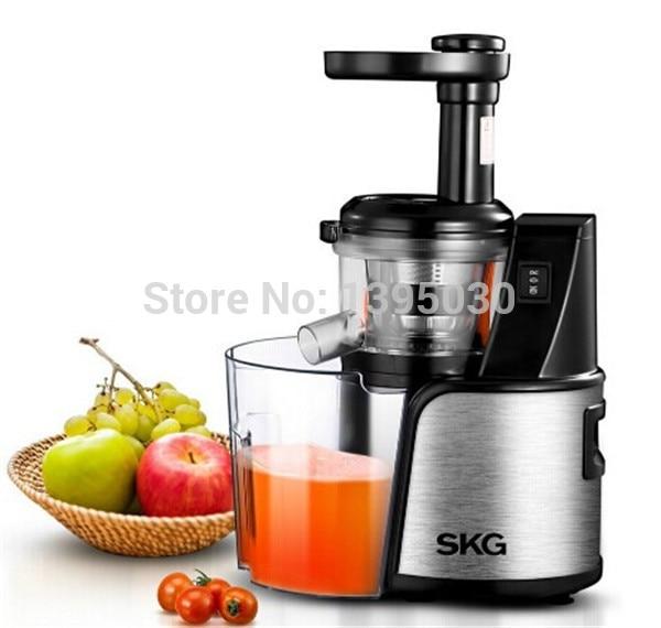 100% Original Juicer SKG ZZ3360 Slow Juicer Fruit Vegetable Citrus Low Speed Juice Extractor for home use zonesun 2nd generation 100% original slow juicer fruit vegetable citrus low speed juice extractor