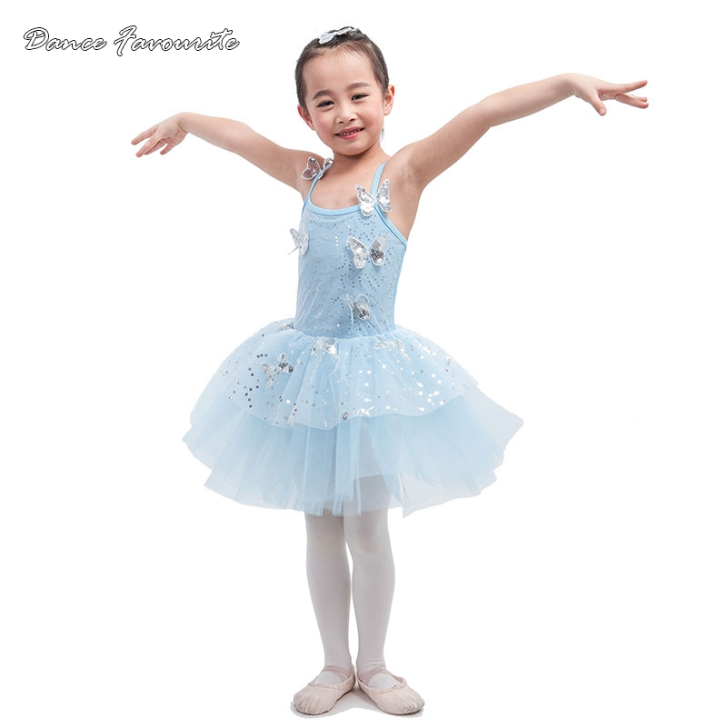 Tants lemmik hõbedane litrid võrgusilma kohal kollase spandex pihik ballett tutu laps tantsukostüüm baleriin tüdruk tants kostüüm tutu