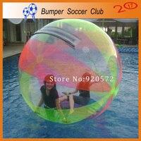 Frete grátis! fabricante! esfera inflável Da Água pé, colorido inflável esfera da água, esfera da água Inflável humana