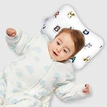 Cute Cartoon Baby Pillow Newborn Prevent Flat Head Soft Pillows Baby Kamer Babies Functional Accessories for Infant Sleeping lokyee 6119 cute bear pattern infant baby avoid flat position pillow light ivory