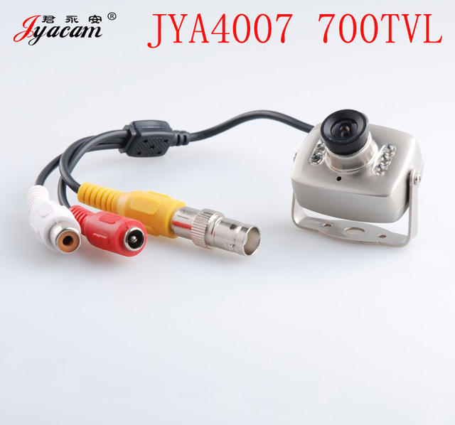 Jyacam JYA4007 CMOS 700 TVL Mini HD Night Vision Surveillance Camera  with Audio