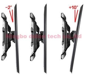 """Image 4 - NB P5 32 """" 52"""" 42 """"50"""" 6 bras VESA400X400 200X200 rétractable plein mouvement LCD TV montage mural bras mobile support tv ascenseur mécanisme"""