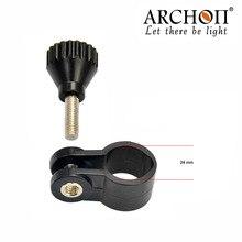 Archon YS24 Дайвинг фонарик Зажим Факел Монтажный кронштейн держатель для D11VII/D15VP/D10S