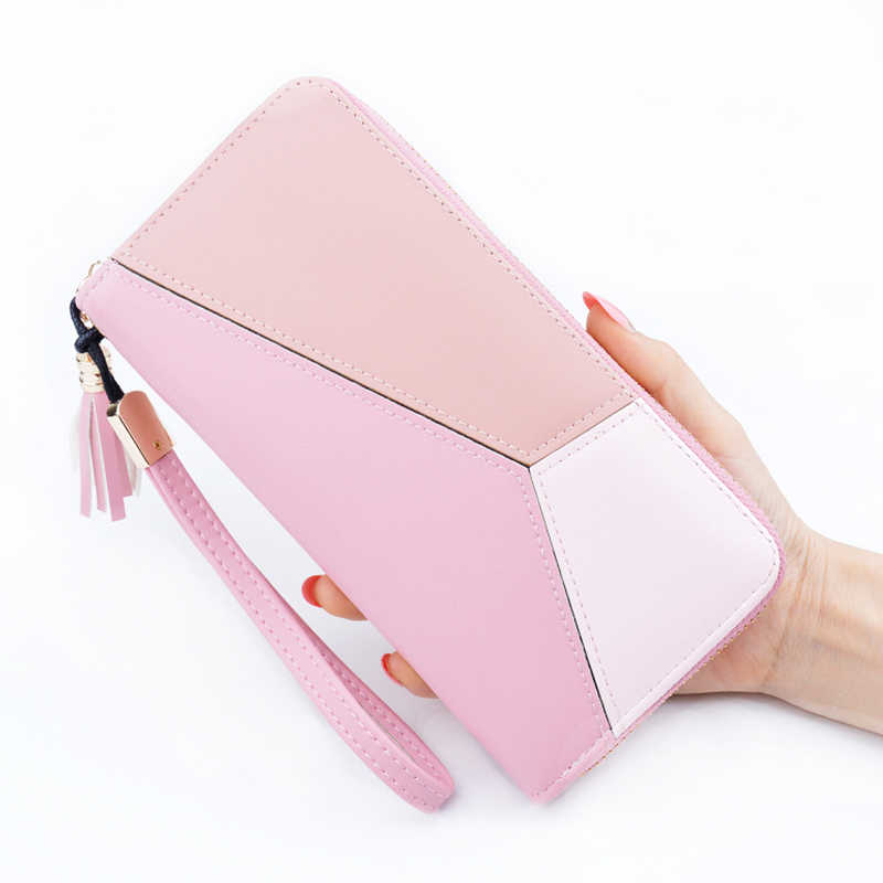 Fashion Female Wallet Purse Top quality Women Wallet zipper coin pocket credit card holder female purse money bag Elegant
