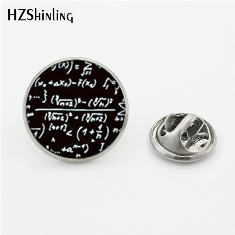 2017 New Design Mathematical Formula Brooch Jewelry Mathematical Greek Symbol Pi Butterf ...