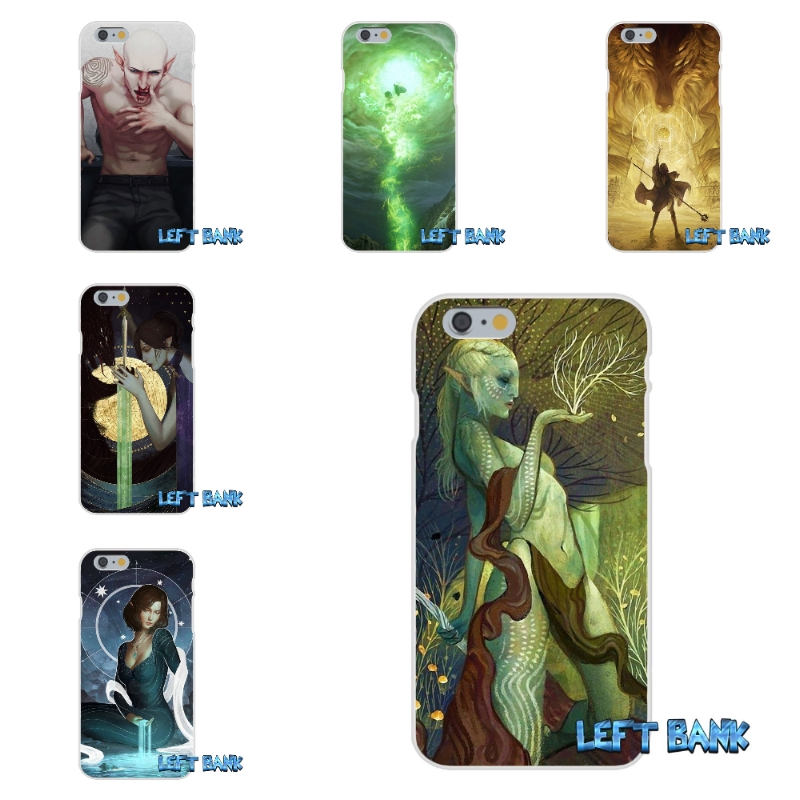 Dragon Age Inquisition Soft Silicone TPU Transparent Cover Case For iPhone 4 4S 5 5S 5C SE 6 6S 7 Plus